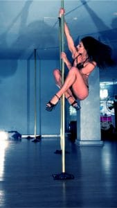 Pole Dance Academy Sydney Media Event - FInal Performance